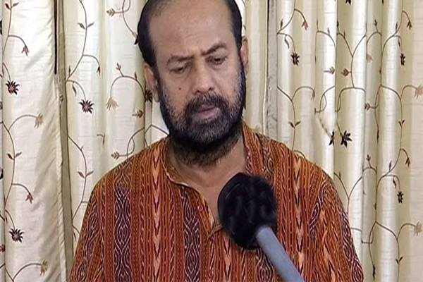 BJP candidate Ashok Panigrahi to file nomination