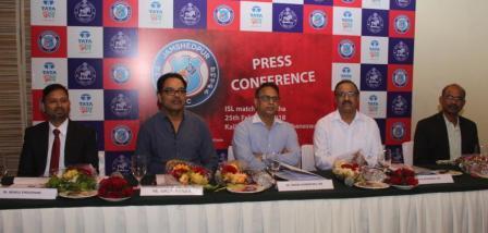 Stage set for ISL match between Jamshedpur FC, Bengaluru FC at Kalinga Stadium