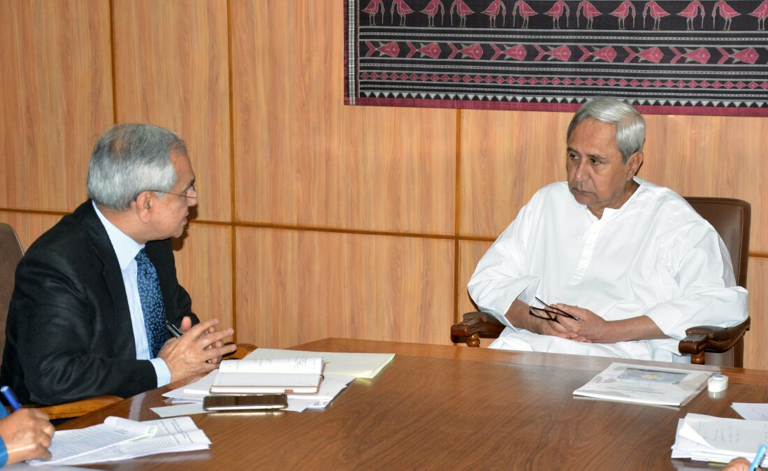 Naveen reiterates demand for special category status to Odisha