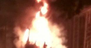 Fire breaks out OPTCL's power grid in Dhenkanal