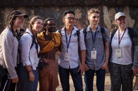 Students from Australia, Scotland writer join Old Town Ekamra Walks