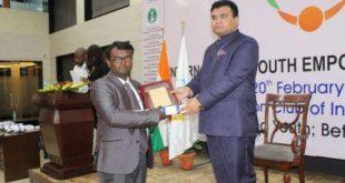 Odisha's Prasanta Mahakud gets India Youth Prize 2018