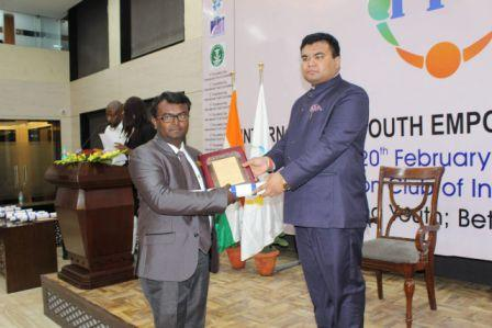 Odisha's Prasanta Mahakud gets India Youth Prize 2018