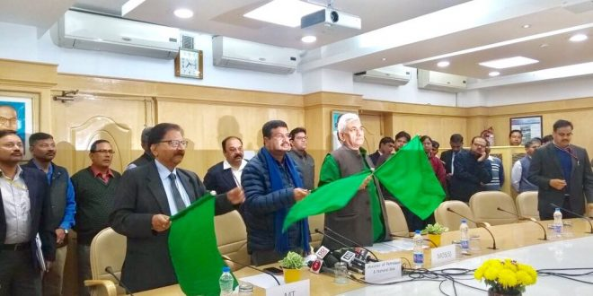 Bhubaneswar- New Delhi Rajdhani Express via Sambalpur flagged off