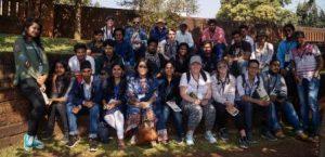 Students from Australia, Scotland writer join Old Town Ekamra Walks