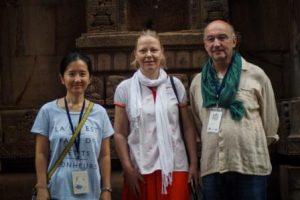 Unicef team joins Ekamra walks