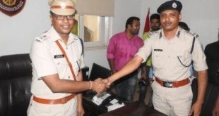 Anup Sahu takes charge as new Bhubaneswar DCP