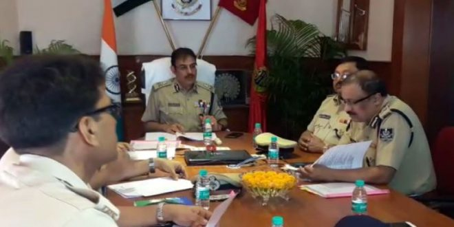 DGP reviews President Ram Nath Kovind's visit to Odisha