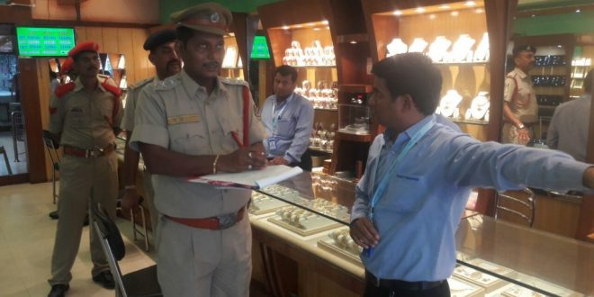 Fire safety inspection at commercial high-rises in Berhampur