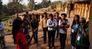 Heritage walk at Udayagiri