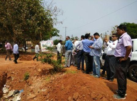 Interested investors on site visit for proposed 10 hotels in Bhubaneswar