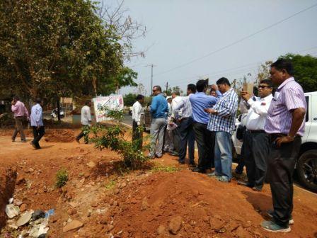 Interested investors on site visit for proposed 10 hotels in Bhubaneswar