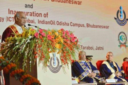 President at Convocation of IIT Bhubaneswar