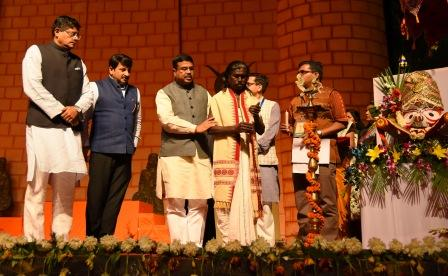 Heavy footfall at Odisha Parba 2018 in New Delhi