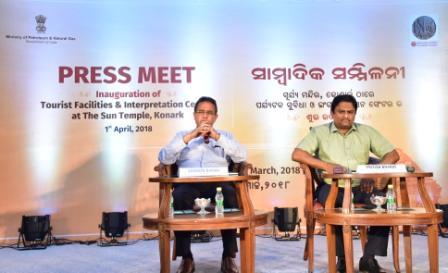 Petroleum Minister to inaugurate world-class tourist facilities at Konark Sun Temple
