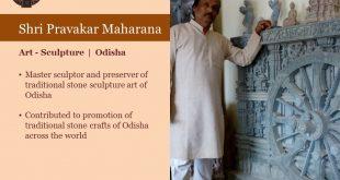 Pravakara Moharana, Gobardhan Panika from Odisha receive Padma Shri
