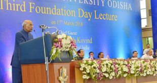 President Ram Nath Kovind at Foundation Day Lecture of National Law University, Odisha