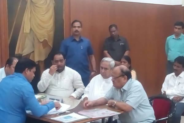 BJD candidates file nomination papers for Rajya Sabha polls