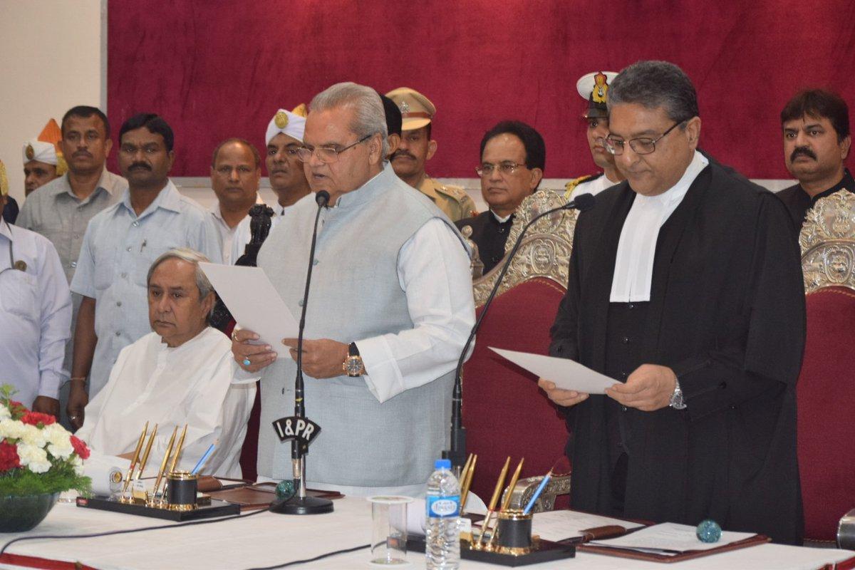 Satya Pal Malik sworn in as Odisha Governor