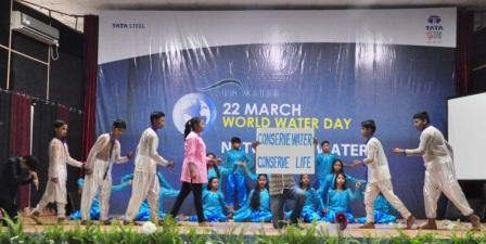 Raw Materials Division of Tata Steel celebrates World Water Day