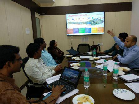 Team from Port Blair Smart City visits BSCL to have smart 'SPV coaching'