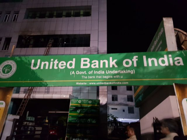 Fire breaks out in Union Bank of India city branch; assets worth lakhs gutted