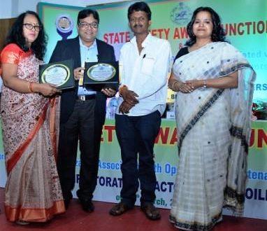 Vedanta bags State Safety Award