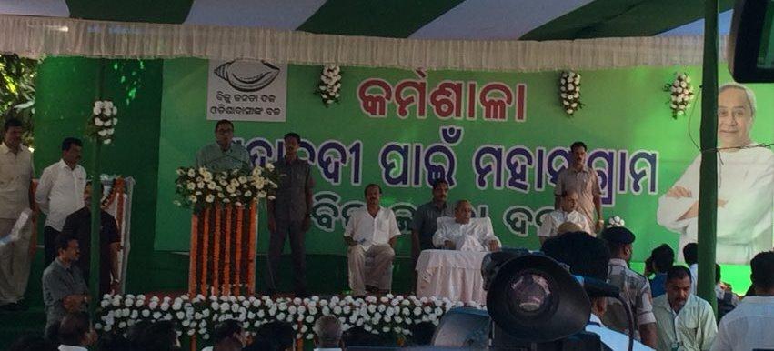 BJP obstructed Mahanadi water into Odisha: Naveen