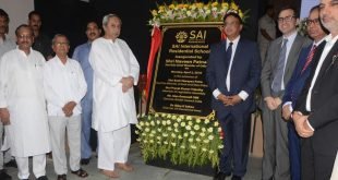 CM inaugurates SAI International Residential School