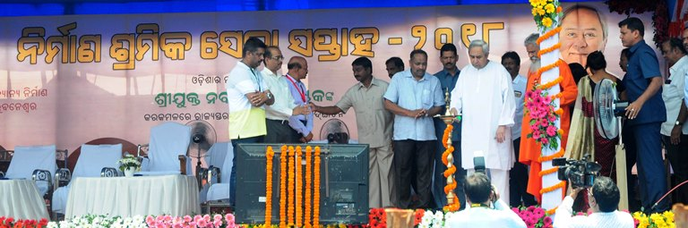 Two e-portals for construction labourers in Odisha
