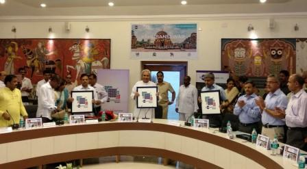 Bhubaneswar smart city logo, BDA website 'Bhubaneswar.me' unveiled