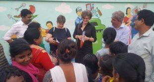 German delegation visits BTCD area
