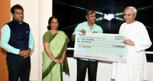 OTDC presents dividend for first time to Odisha govt
