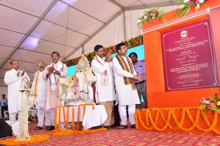 Pradhan inaugurates LPG bottling plant at Balasore