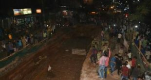 Portion of Bomikhal flyover caves in, 1 killed