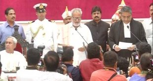 Prof Ganeshi Lal swears in as Odisha Governor