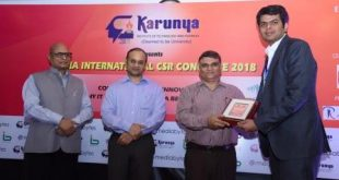 JSPL Foundation wins CSR Excellence Award in IICSR Conclave 2018