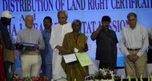 Odisha govt hands over land titles to urban slum dwellers