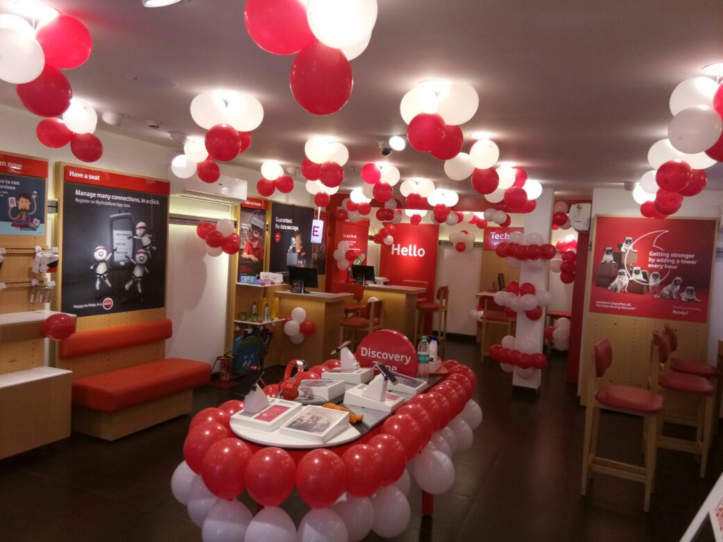 Vodafone store in Cuttack