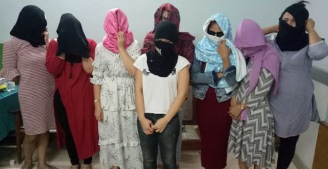 High-profile sex racket busted in Bhubaneswar, eight Thai women rescued