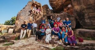 Australian students join 30th Monks, Caves and Kings walk