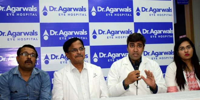 Vision of patient from Uttar Pradesh restored at Dr. Agarwal's Eye Hospital