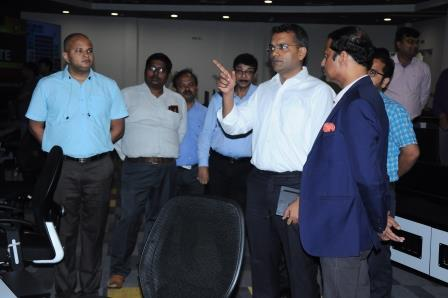 Indian Ambassador to Brazil visits Bhubaneswar Smart City office