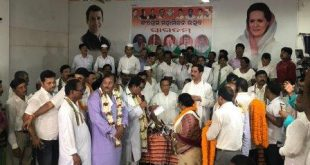 Several former Congress leaders rejoin party in Odisha
