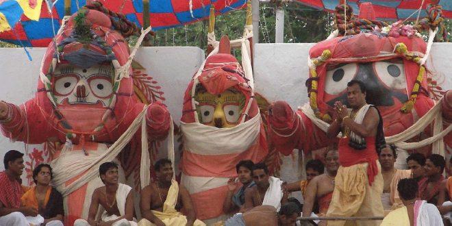 Lakhs throng Puri to witness Deva Snana Purnima