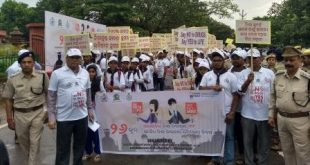 Rain fails to dampen spirit of rally against drug abuse in Odisha capital