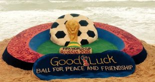 Sudarsan's good luck message for FIFA World Cup 2018