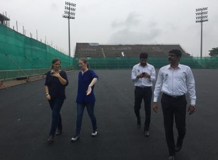 FIH delegation reviews Odisha Hockey Men's World Cup 2018 preparation