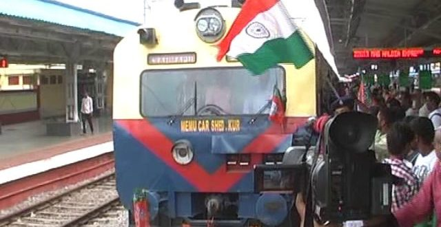 Odisha's first MEMU train flagged off from Berhampur