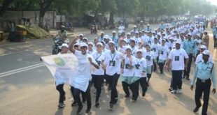 Mini marathon organised against use of plastic in Bhubaneswar
